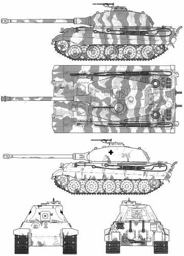 Схема тяжёлого танка